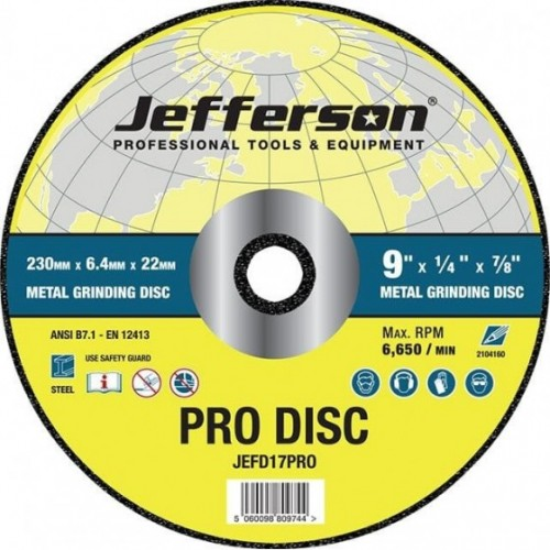 GRINDING DISC STEEL 22MM...