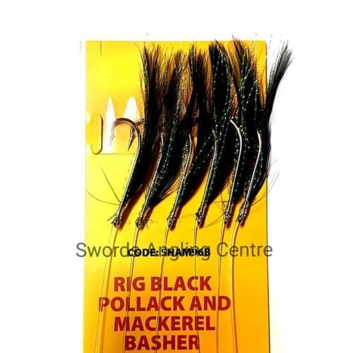 RIG FEATHER BLACK P&M...
