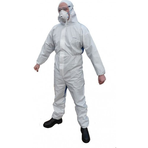 DISPOSABLE COVERALL CATIII...